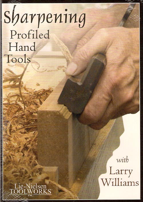 Sharpening woodworking tools dvd